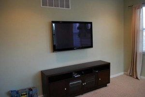Photo #1: $79.99 Professionally Mounted FlatScreen TV