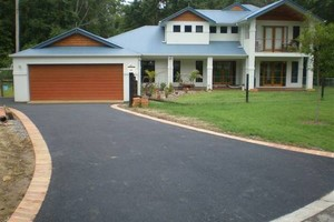 Photo #1: Asphalt & Concrete Services - patching, overlaying, seal coating