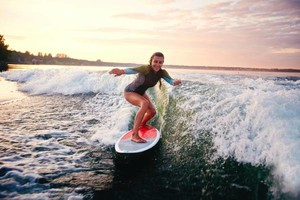 Photo #1: Lake Lessons - Learn to wakesurf/wakeboard