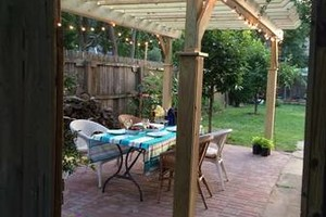 Photo #1: Need curb appeal! Paver Patio Pergola Landscape Design Etc