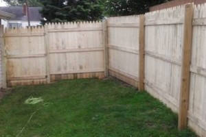 Photo #1: Landscaping, concrete and fencing