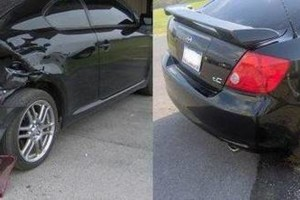 Photo #1: Mobile auto body - dent, rust repair. 1 day service!