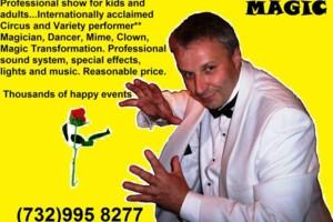 Photo #1: MAGIC, CLOWN, SHOW, ILLUSION, MIME, tap DANCE...