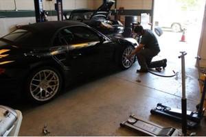 Photo #1: PORSCHE Brakes Service Suspension Exhaust Oil Change Tune ECU Wheels