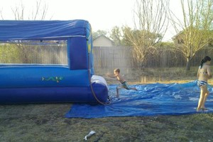Photo #1: 30ft Slip and Slide for Rent! $175.00