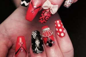 Photo #1: $20 Diva Nails by Candela/ 3D/ WAX /MAKE-UP SERVICES