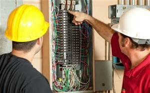 Photo #1: JW Contracting. Electrician with great prices