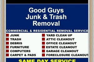 Photo #1: GOOD GUY,trash,junk,labor,hot tub,delivery,furniture,dehauling,removal