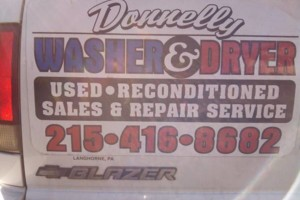Photo #1: DONNELLY APPLIANCE REPAIR (parts and service warrantied)