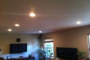 Photo #1: ELECTRICIAN - $85 LED TV MOUNTING $75 CEILING FAN INSTALL $65...