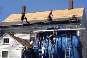 Photo #1: Northern Exteriors Roofing & Gutter Company
