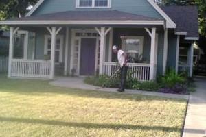 Photo #1: Maintenance $35 (lawn mowing)