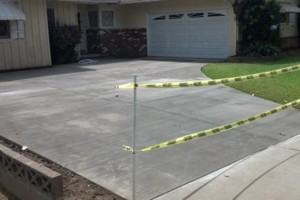 Photo #1: Driveways / steps / patios / Concrete set up & finish