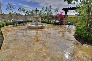 Photo #1: Decorative Concrete Services. All Seasons Concrete