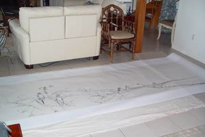 Photo #1: ORIGINAL ART: CUSTOM WALL COVERINGS IN WIPEABLE VINYL