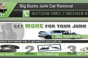 Photo #1: Big Bucks Junk Car Removal