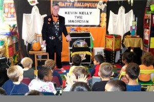 Photo #1: Halloween Magic Show by Kevin Kelly the Magician
