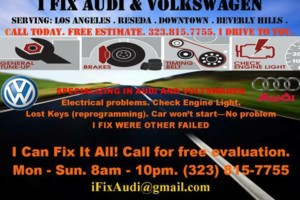 Photo #1: Audi Volkswagen mechanic electric repair mobile