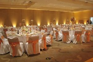 Photo #1: Wedding DJ with Lighting Spotlights Monograms