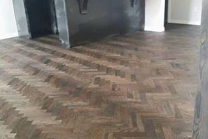 Photo #1: Wood Floor Installation
