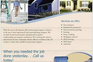 Photo #1: INTERIOR and EXTERIOR PAINTING Available, excellent prices and quality!
