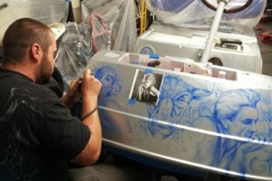 Photo #1: Airbrush Artist & Paint (TOP QUALITY!)