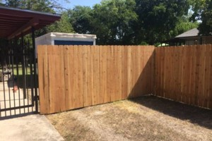 Photo #1: Custom Cedar Privacy Fences and Wrought Iron Fencing
