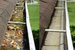 Photo #1: Rico's Gutter Cleaning & Repairs
