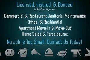 Photo #1: Commercial Cleaning Services.  Jireth Cleaning & Maintenance