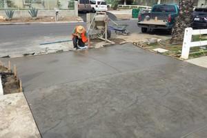 Photo #1: Pacific Construction (concrete, tile, patio etc.)