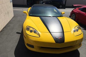 Photo #1: Alpha POWDER COATING Hydrographic vinyl car wrap