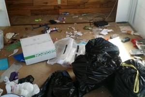 Photo #1: Trash cleanup pickup and hauling