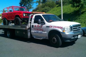Photo #1: Flatbed Towing & Transport