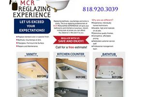 Photo #1: Bathtub, counter tops and sink Refinishing