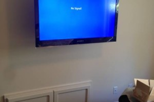 Photo #1: TV mounting, TV installer