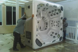 Photo #1: HOT TUBS MOVERS. Pro. Movers Los Angeles