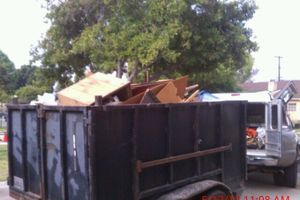 Photo #1: Hauling trash removal