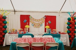 Photo #1: Dr. Seuss balloon decorations