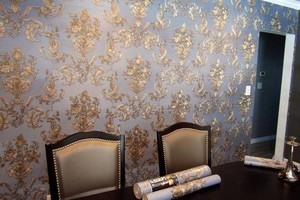 Photo #1: Accent Walls with Paint/Wallpaper