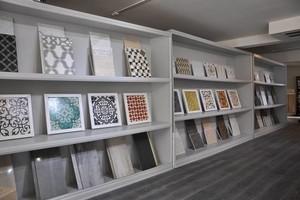 Photo #1: Rhodium Floors. HandpaintedMoroccan Tiles for Bath, Kitchen & Home