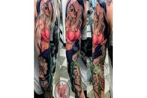Photo #1: Looking fo a Tattoo? Look NO Further. Psycho Clown Tattoo