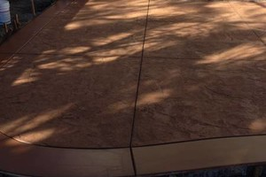 Photo #1: COLOR-STAMPED COLOR - CONCRETE-LANDSCAPING