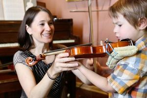 Photo #1: Suzuki Violin Lessons with Patient and Talented Teacher