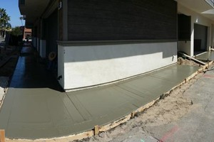Photo #1: CUSTOM CONCRETE, BLOCK WALLS, DEMO & GRADING