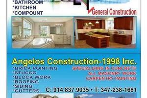 Photo #1: Angelo's Contrucion/ Trabajos de construccin