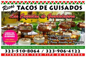 Photo #1: TACOS DE GUISADOS PARA SU FIESTAS