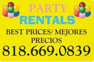 Photo #1: Party Rental Lowest Prices (mejores precios)
