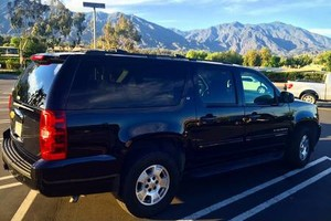Photo #1: Personal Driver with BLACK SUV