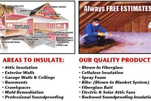 Photo #1: Pro Insulator for Hire!!!