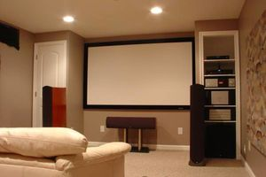 Photo #1: WALL MOUNT TV 3D 4K HOME AUDIO INSTALLATION